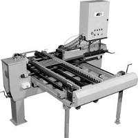 Stempelmaschine zur flexiblen, frontseitigen Kennzeichnung von Antriebswellen
