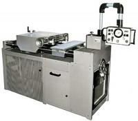 Kennzeichnungsmaschine zum Kennzeichnen großer Flansche, ausgelegt für Dauerbetrieb